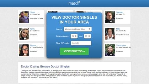 Match.com Doctor Dating